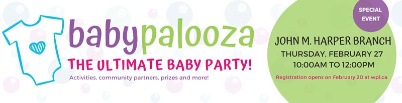 Babypalooza baby party promotion