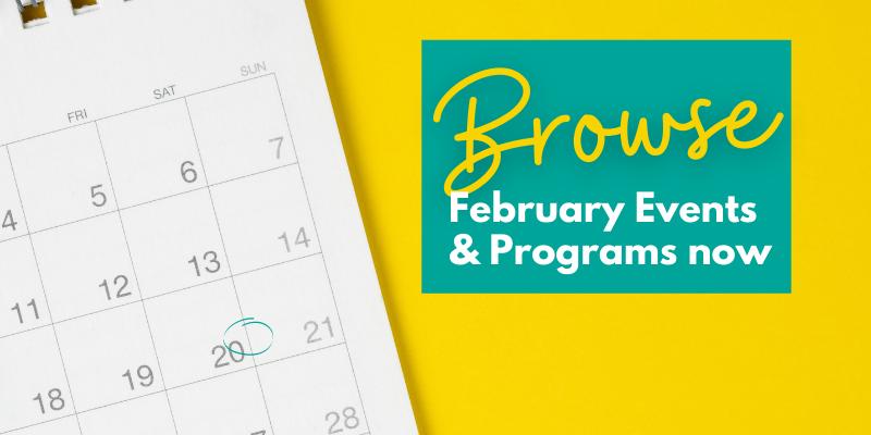 February programs at WPL