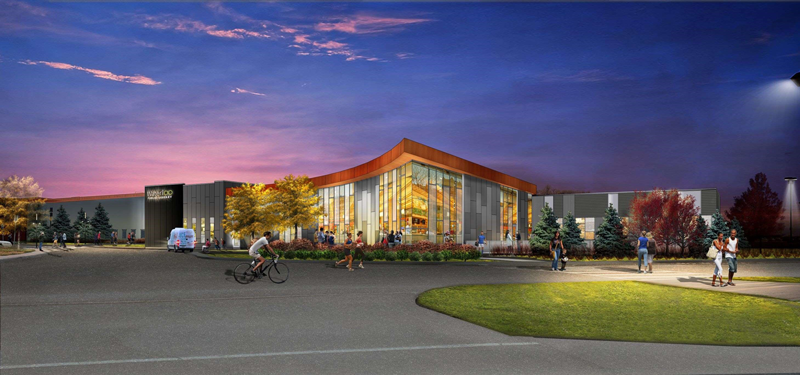 Design of the new library branch at RIM Park