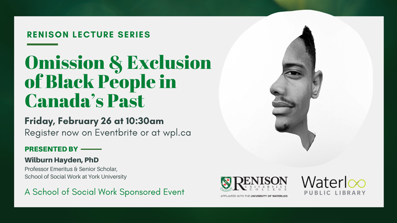 Renison Lecture - February 2021
