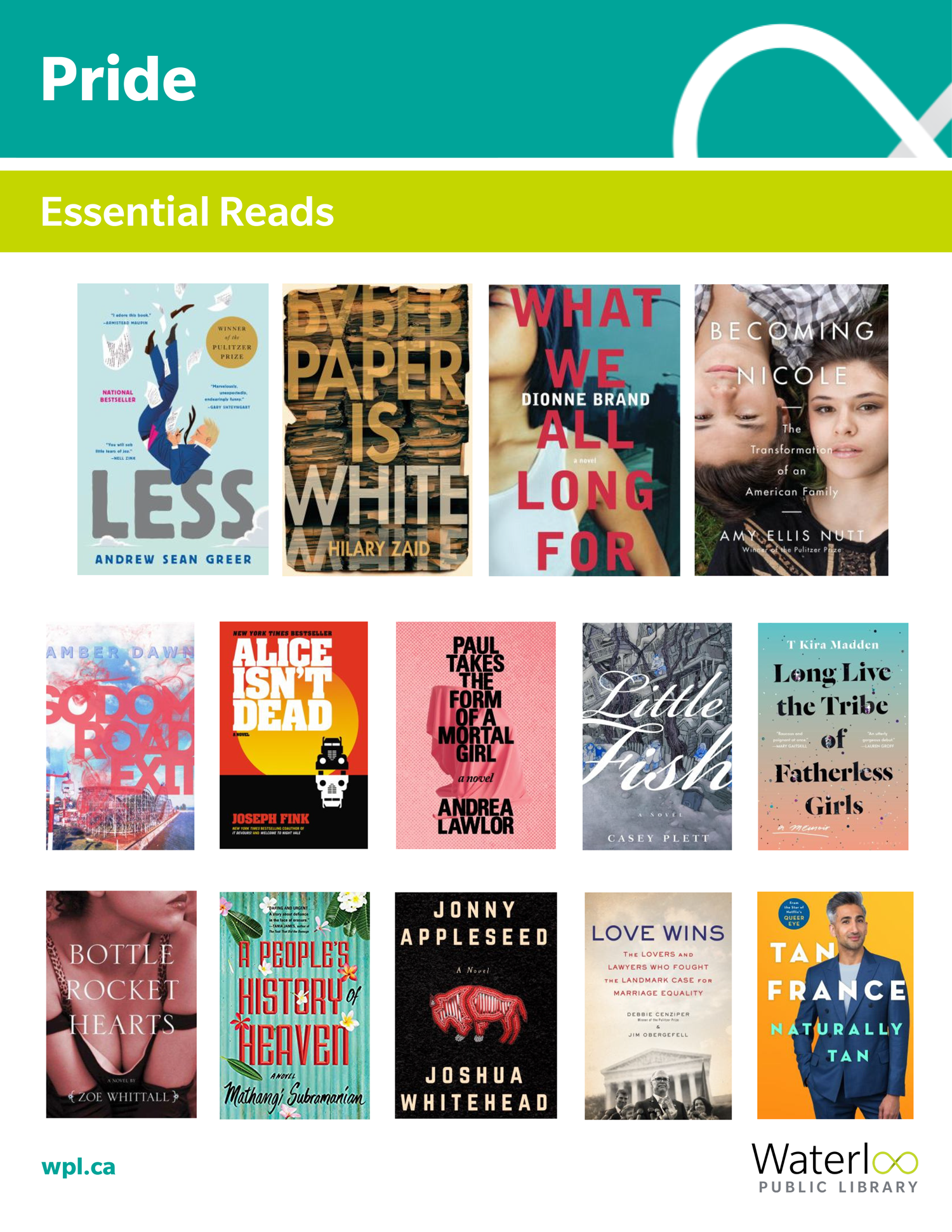 Pride 2019 - Books for Adults