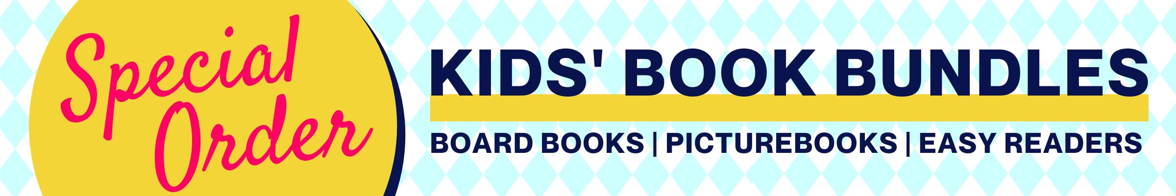 Special Order Kids Book Bundle Header