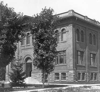 22341ee176ef History of WPL | Waterloo Public Library